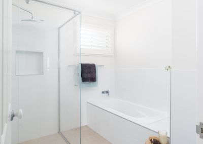 The simplest bathroom staging is often the best