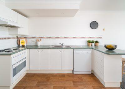 Simple kitchen accessories add interest
