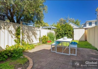 Staging a space for outdoor living increases the value of a home