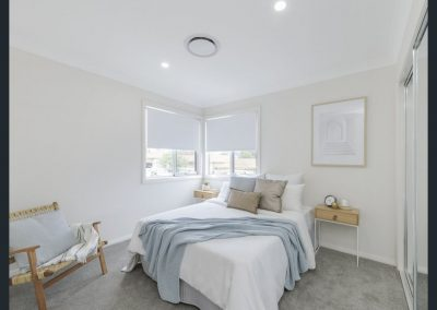 Bedroom styling helps create a sense of sanctuary